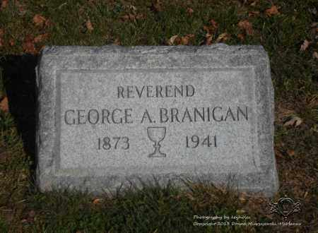 BRANIGAN, GEORGE A. - Lucas County, Ohio | GEORGE A. BRANIGAN - Ohio Gravestone Photos