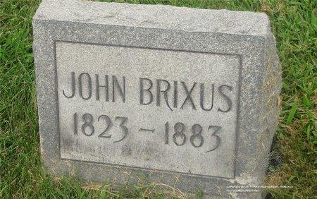 BRIXUS, JOHN - Lucas County, Ohio | JOHN BRIXUS - Ohio Gravestone Photos