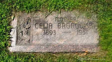 BRONOWSKI, CELIA - Lucas County, Ohio | CELIA BRONOWSKI - Ohio Gravestone Photos