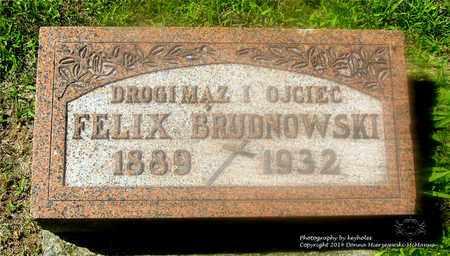 BRUDNOWSKI, FELIX - Lucas County, Ohio | FELIX BRUDNOWSKI - Ohio Gravestone Photos