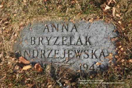 BRYZELAK ANDRZEJEWSKA, ANNA - Lucas County, Ohio | ANNA BRYZELAK ANDRZEJEWSKA - Ohio Gravestone Photos