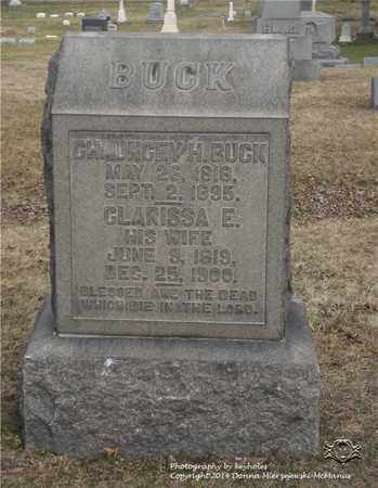 BUCK, CLARISSA E. - Lucas County, Ohio | CLARISSA E. BUCK - Ohio Gravestone Photos