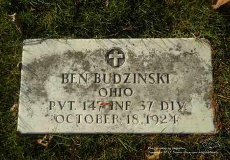 BUDZINSKI, BEN - Lucas County, Ohio | BEN BUDZINSKI - Ohio Gravestone Photos