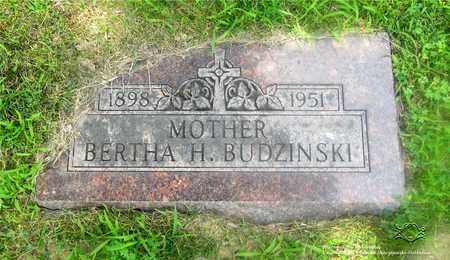 BUDZINSKI, BERTHA - Lucas County, Ohio | BERTHA BUDZINSKI - Ohio Gravestone Photos