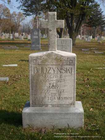 BUDZYNSKI, ESTHER - Lucas County, Ohio | ESTHER BUDZYNSKI - Ohio Gravestone Photos