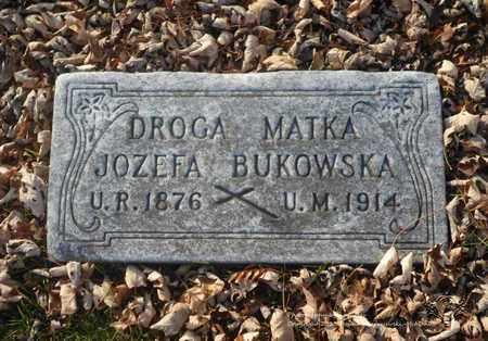 BUKOWSKA, JOZEFA - Lucas County, Ohio | JOZEFA BUKOWSKA - Ohio Gravestone Photos