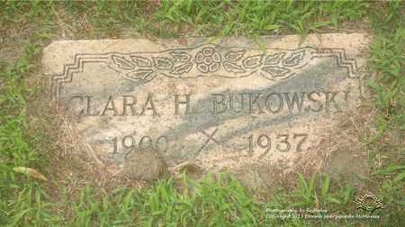 BUKOWSKI, CLARA H. - Lucas County, Ohio | CLARA H. BUKOWSKI - Ohio Gravestone Photos
