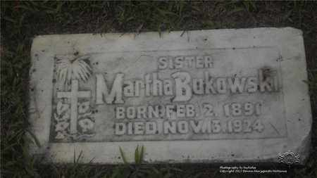 BUKOWSKI, MARTHA - Lucas County, Ohio | MARTHA BUKOWSKI - Ohio Gravestone Photos