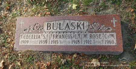BULASKI, ROSE C. - Lucas County, Ohio | ROSE C. BULASKI - Ohio Gravestone Photos