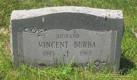 BURBA, VINCENT - Lucas County, Ohio | VINCENT BURBA - Ohio Gravestone Photos