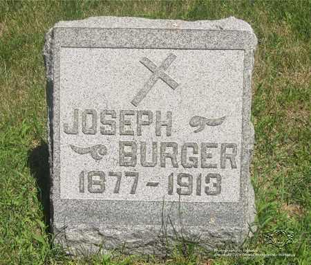 BURGER, JOSEPH - Lucas County, Ohio | JOSEPH BURGER - Ohio Gravestone Photos