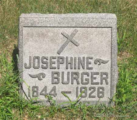 WERNERT BURGER, JOSEPHINE - Lucas County, Ohio | JOSEPHINE WERNERT BURGER - Ohio Gravestone Photos