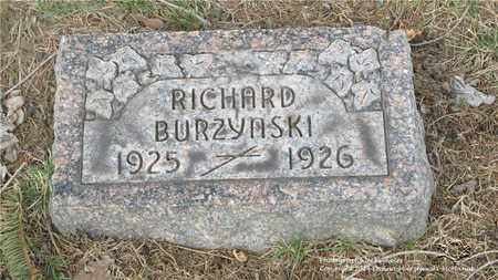 BURZYNSKI, RICHARD - Lucas County, Ohio | RICHARD BURZYNSKI - Ohio Gravestone Photos