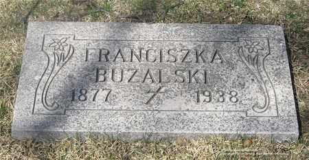 WITEK BUZALSKI, FRANCISZKA - Lucas County, Ohio | FRANCISZKA WITEK BUZALSKI - Ohio Gravestone Photos