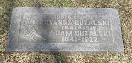 BUZALSKI, MARYANNA - Lucas County, Ohio | MARYANNA BUZALSKI - Ohio Gravestone Photos