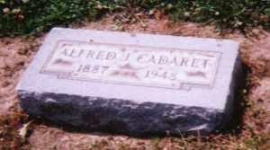 CADARET, ALFRED JOSEPH - Lucas County, Ohio | ALFRED JOSEPH CADARET - Ohio Gravestone Photos