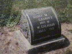 CALHOUN, GRACE MARIE - Lucas County, Ohio | GRACE MARIE CALHOUN - Ohio Gravestone Photos