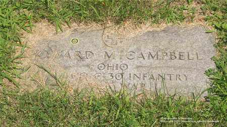 CAMPBELL, HOWARD M. - Lucas County, Ohio | HOWARD M. CAMPBELL - Ohio Gravestone Photos