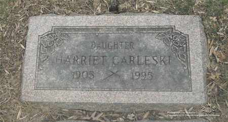PORAZYNSKI CARLESKI, HARRIET - Lucas County, Ohio | HARRIET PORAZYNSKI CARLESKI - Ohio Gravestone Photos