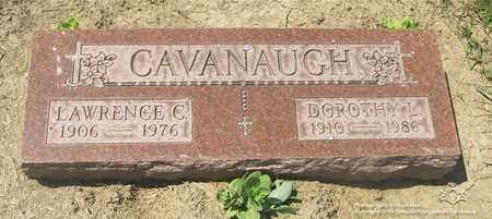 CAVANAUGH, DOROTHY L. - Lucas County, Ohio | DOROTHY L. CAVANAUGH - Ohio Gravestone Photos