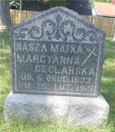 CEGLARSKA, MARCYANNA - Lucas County, Ohio | MARCYANNA CEGLARSKA - Ohio Gravestone Photos