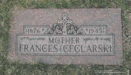 CEGLARSKI, FRANCES - Lucas County, Ohio | FRANCES CEGLARSKI - Ohio Gravestone Photos