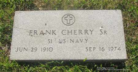CHERRY, FRANK - Lucas County, Ohio | FRANK CHERRY - Ohio Gravestone Photos