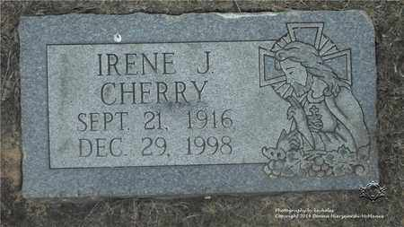 CHERRY, IRENE J. - Lucas County, Ohio | IRENE J. CHERRY - Ohio Gravestone Photos