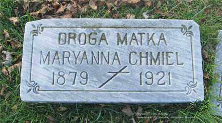CHMIEL, MARYANNA - Lucas County, Ohio | MARYANNA CHMIEL - Ohio Gravestone Photos