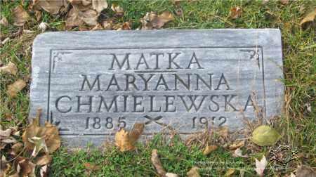 MATUSZYNSKI CHMIELEWSKA, MARYANNA - Lucas County, Ohio | MARYANNA MATUSZYNSKI CHMIELEWSKA - Ohio Gravestone Photos