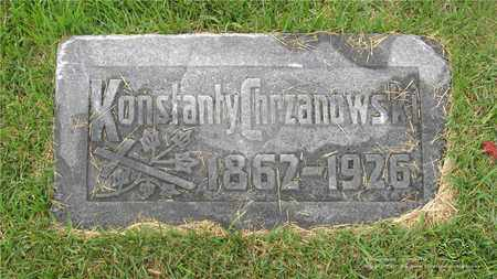 CHRZANOWSKI, KONSTANTY - Lucas County, Ohio | KONSTANTY CHRZANOWSKI - Ohio Gravestone Photos