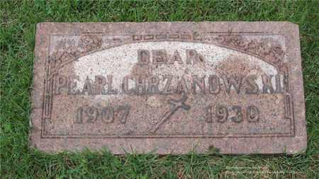CHRZANOWSKI, PEARL - Lucas County, Ohio | PEARL CHRZANOWSKI - Ohio Gravestone Photos