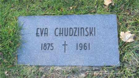 CHUDZINSKI, EVA - Lucas County, Ohio | EVA CHUDZINSKI - Ohio Gravestone Photos