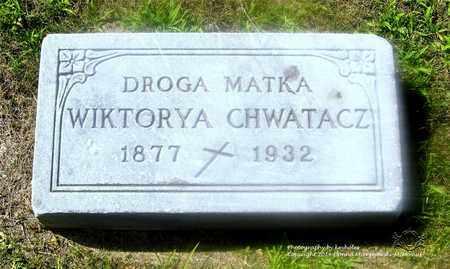 WYKPISZEWSKA CHWATACZ, WIKTORYA - Lucas County, Ohio | WIKTORYA WYKPISZEWSKA CHWATACZ - Ohio Gravestone Photos
