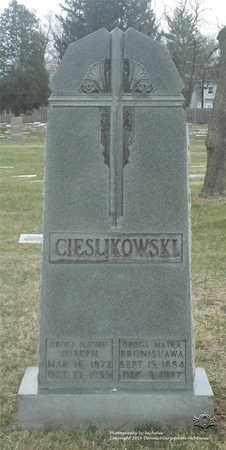 CIESLIKOWSKI, BRONISLAWA - Lucas County, Ohio | BRONISLAWA CIESLIKOWSKI - Ohio Gravestone Photos