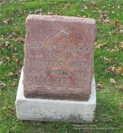 CIEZKI, STANISLAW - Lucas County, Ohio | STANISLAW CIEZKI - Ohio Gravestone Photos