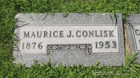 CONLISK, MAURICE J. - Lucas County, Ohio | MAURICE J. CONLISK - Ohio Gravestone Photos