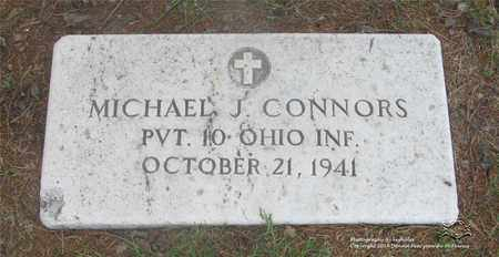 CONNORS, MICHAEL J. - Lucas County, Ohio | MICHAEL J. CONNORS - Ohio Gravestone Photos