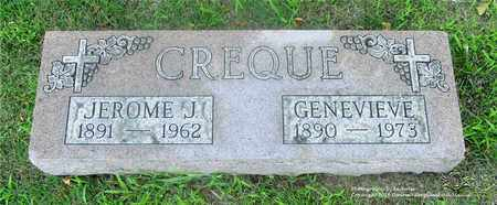 CREQUE, JEROME J. - Lucas County, Ohio | JEROME J. CREQUE - Ohio Gravestone Photos