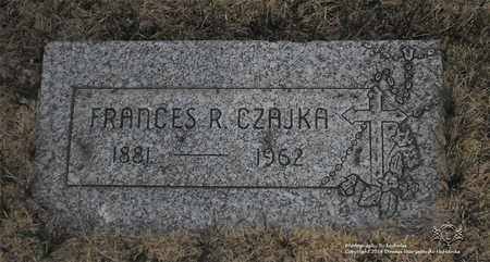 CZAJKA, FRANCES R. - Lucas County, Ohio | FRANCES R. CZAJKA - Ohio Gravestone Photos