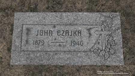CZAJKA, JOHN - Lucas County, Ohio | JOHN CZAJKA - Ohio Gravestone Photos