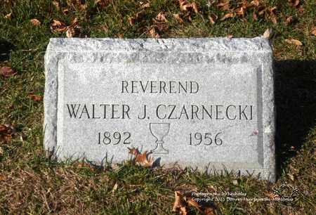 CZARNECKI, WALTER J. - Lucas County, Ohio | WALTER J. CZARNECKI - Ohio Gravestone Photos