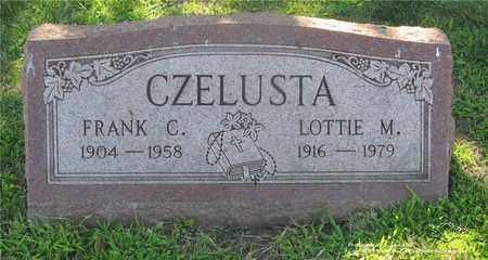 CZELUSTA, LOTTIE M. - Lucas County, Ohio | LOTTIE M. CZELUSTA - Ohio Gravestone Photos