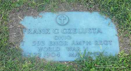 CZELUSTA, FRANK C. - Lucas County, Ohio | FRANK C. CZELUSTA - Ohio Gravestone Photos