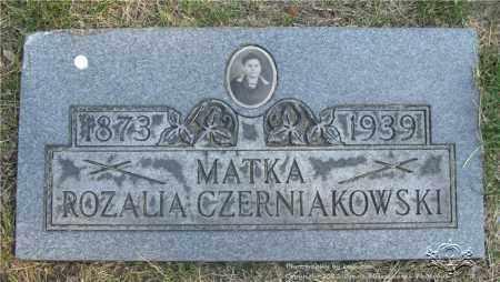 CZERNIAKOWSKI, ROZALIA - Lucas County, Ohio | ROZALIA CZERNIAKOWSKI - Ohio Gravestone Photos