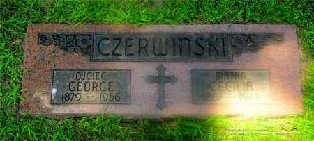 CZERWINSKI, GEORGE - Lucas County, Ohio | GEORGE CZERWINSKI - Ohio Gravestone Photos