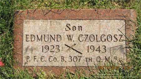 CZOLGOSZ, EDMUND W. - Lucas County, Ohio | EDMUND W. CZOLGOSZ - Ohio Gravestone Photos