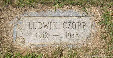 CZOPP, LUDWIK - Lucas County, Ohio | LUDWIK CZOPP - Ohio Gravestone Photos