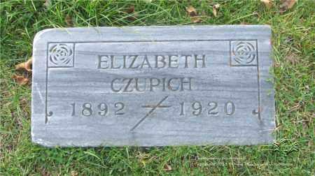 SLOWINSKI CZUPICH, ELIZABETH - Lucas County, Ohio | ELIZABETH SLOWINSKI CZUPICH - Ohio Gravestone Photos