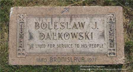 DALKOWSKI, BOLESLAW J. - Lucas County, Ohio | BOLESLAW J. DALKOWSKI - Ohio Gravestone Photos